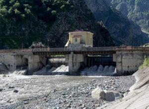 Головной узел Эзминской ГЭС
